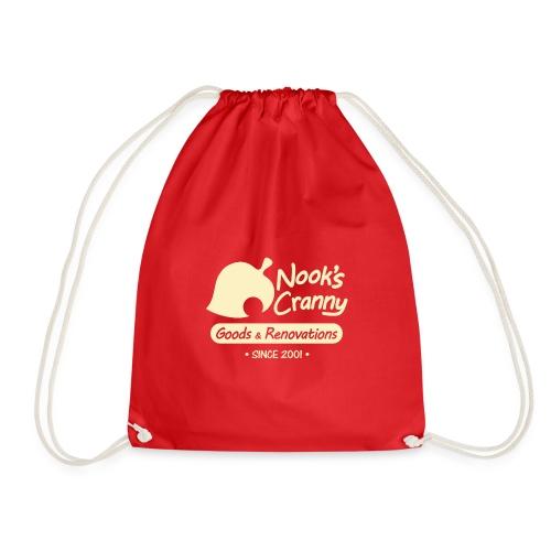 Nook s Cranny logo - Drawstring Bag