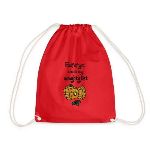 natural list - Drawstring Bag