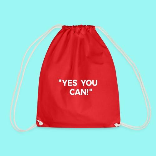 Yes You Can Tshirts For Boys - Girls - Women & Men - Drawstring Bag