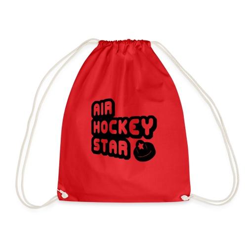 Air Hockey Star - Drawstring Bag