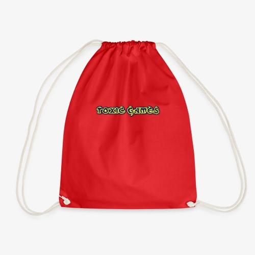 toxic games logo - Drawstring Bag