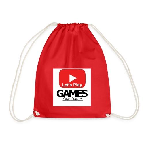 Das ist mein YouTube logo - Turnbeutel