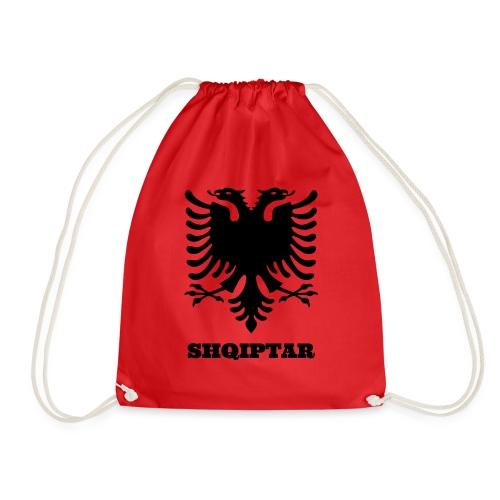 Shqiptar / Albanische Flagge / Albanien / Albaner - Turnbeutel