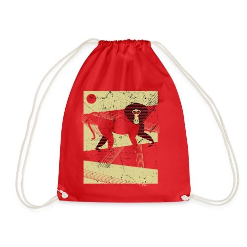 Ethiopian Baboon - Sacca sportiva