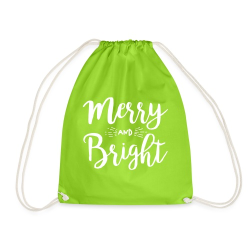 Merry and Bright - Turnbeutel