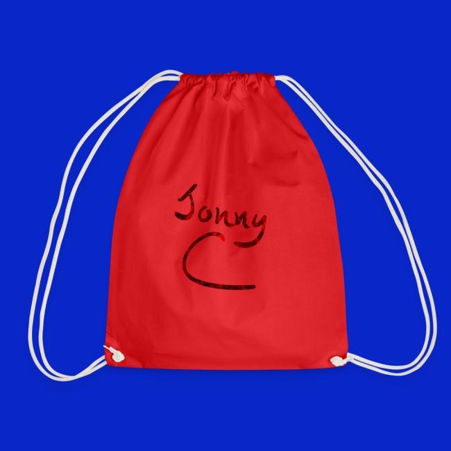 Jonny C Red Handwriting