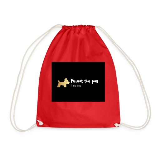 Peanut the Pug Edition - Drawstring Bag