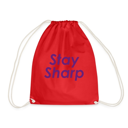 Stay Sharp - Sacca sportiva