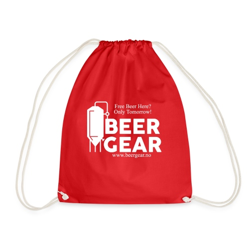 Beer Gear free Beer White - Gymbag