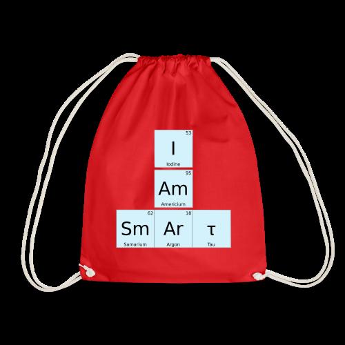 I Am Smart Periodic Table Design - Drawstring Bag