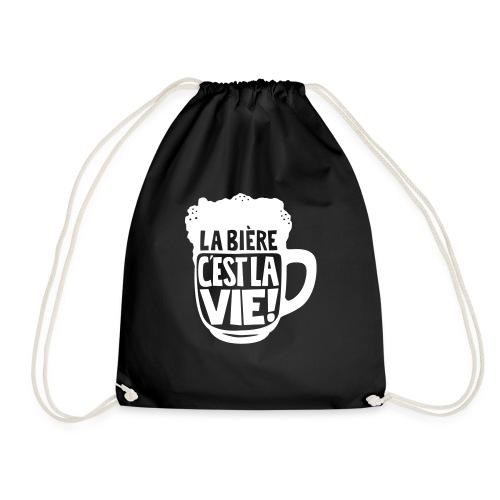 bière, la bière c'est la vie - Sac de sport léger