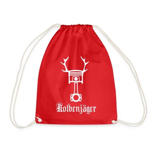 Kolbenjäger Logo+Schrift - Turnbeutel