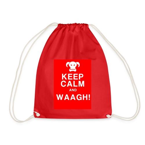 Keep Calm and Waagh! - Sportstaske