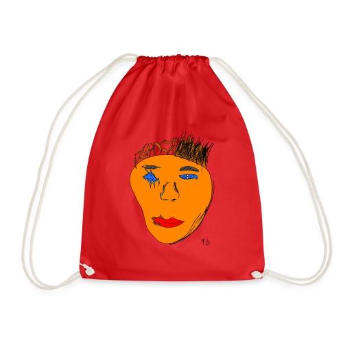 Gesicht - Drawstring Bag