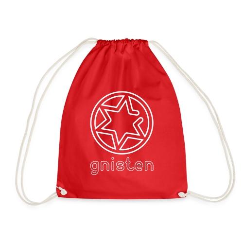 Gniste Ry (hvidt tryk - vertikalt) - Sportstaske