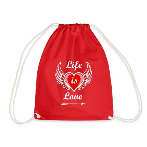 Life is Love - Turnbeutel