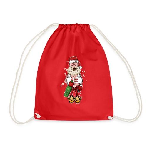 Bad Santa / Weihnachtsmann - Turnbeutel