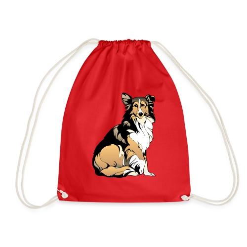Collie hund - Gymnastikpåse