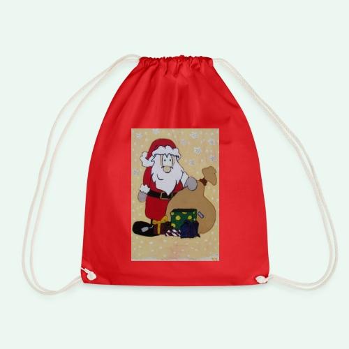 Weihnachtsmann - Anziehend anders US - Turnbeutel
