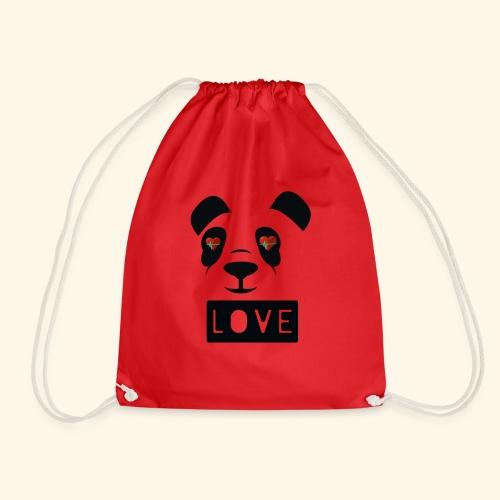 diseño Panda love - Mochila saco