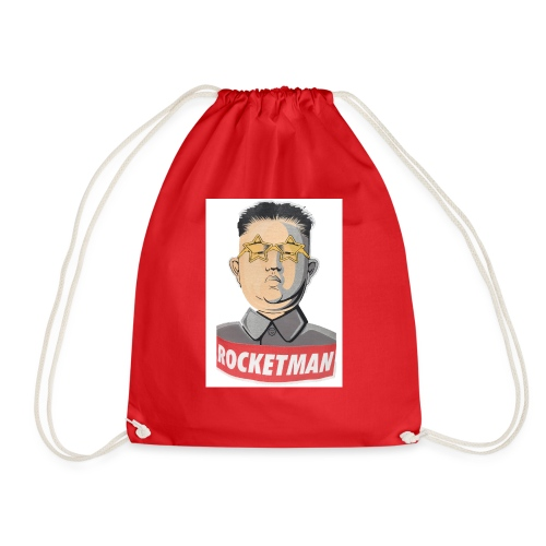 rocket men - Drawstring Bag
