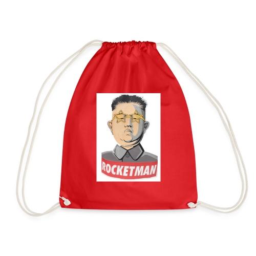 rocket men - Drawstring Bag