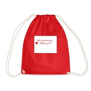 LoveYourselfTheMost - Drawstring Bag