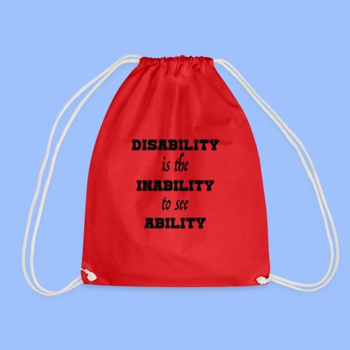 Ability4 - Drawstring Bag