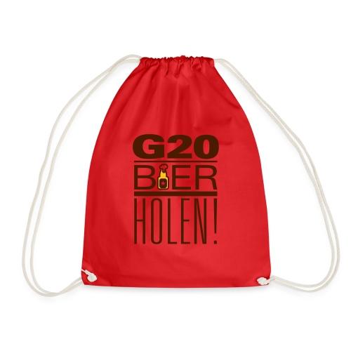 diggaladen g20 bier holen - Turnbeutel