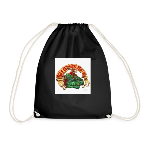 DiceMiniaturePaintGuy - Drawstring Bag