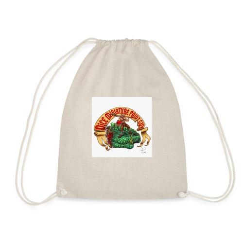 DiceMiniaturePaintGuy - Drawstring Bag