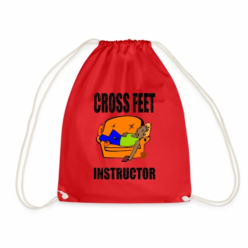 Crossfeet Instructor - Drawstring Bag