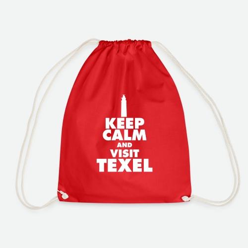 Keep calm and visit Texel - Turnbeutel