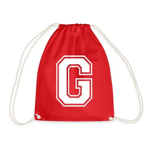 Grime Apparel G Grey Shirt. - Drawstring Bag
