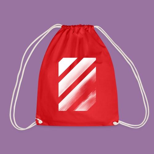 Stripes Diagonal White - Sacca sportiva