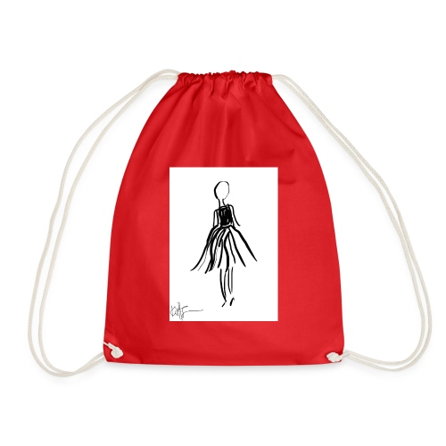 Lady - Drawstring Bag