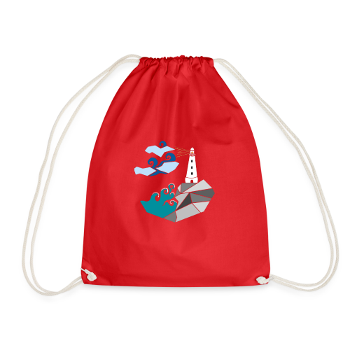 lighthouse - Drawstring Bag