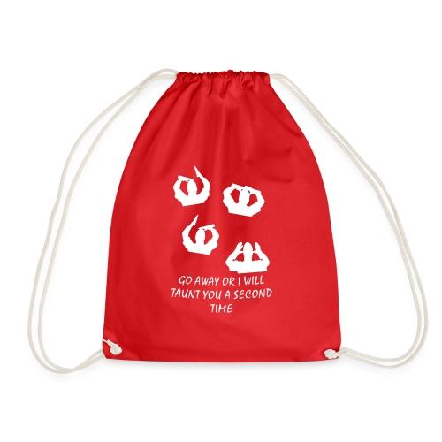French Taunter - Drawstring Bag