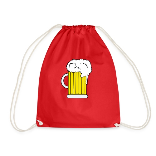 Bierkrug - Turnbeutel