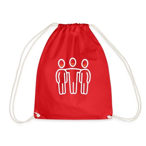 interim.team teamwork long sleeve t-shirt - Drawstring Bag