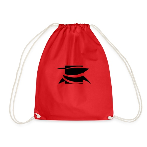 DSripfin logo t-shirt - Drawstring Bag