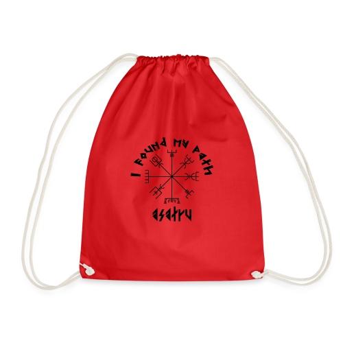 I found my path - Asatru - Drawstring Bag
