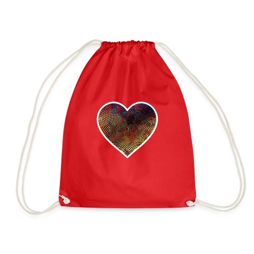 Techno Heart - Drawstring Bag