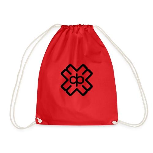 d3ep logo black png - Drawstring Bag