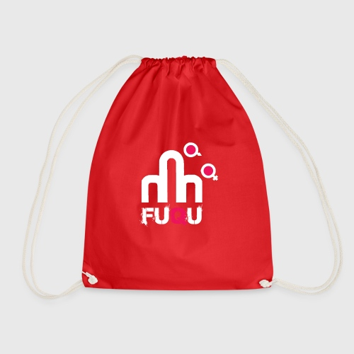 T-shirt FUQU logo colore bianco - Sacca sportiva
