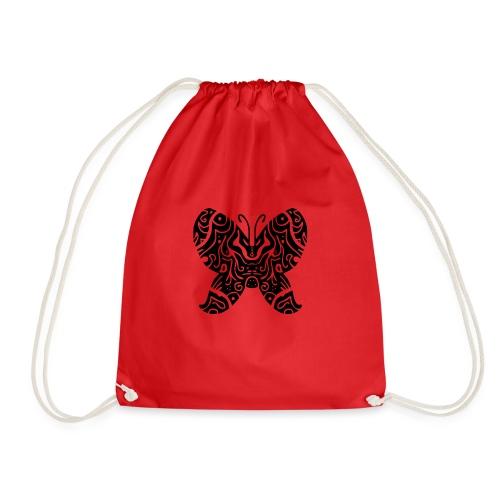 papillon tribal - Sac de sport léger