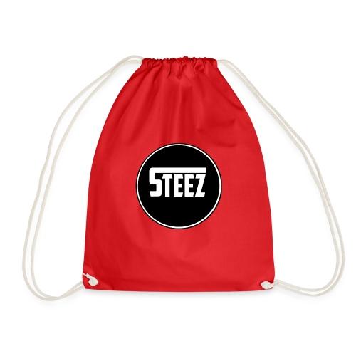 Steez logo white - Gymtas