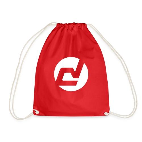 logo blanc - Sac de sport léger
