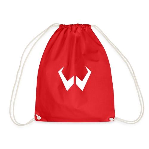 logo de without gravity pk - Mochila saco