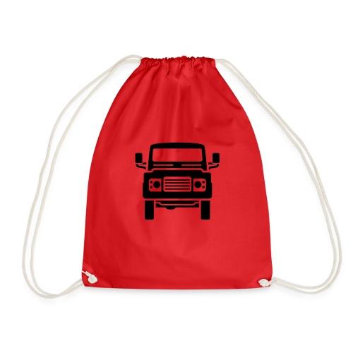 Landie Defender illustration - Autonaut.com - Drawstring Bag